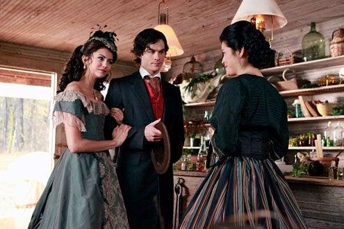"Vampire Diaries - Season 1 - ""Children of the Damned"" - Nina Dobrev, Ian Somerhalder and Kelly Hu"