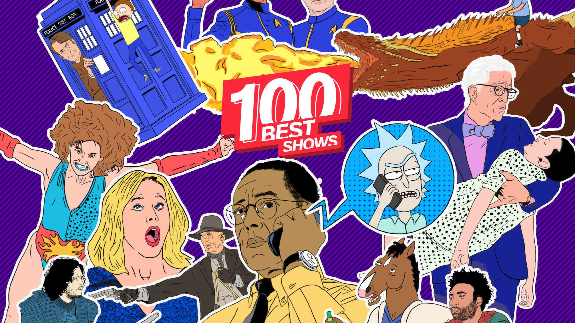 100 Best Shows Header
