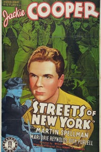 Streets of New York as T.P. 'Tap' Keenan