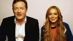 "Lindsay Lohan to Piers Morgan: ""I've Never Been a Huge Drinker"""