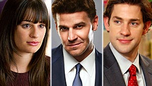 Mega Buzz: A Glee Romance Update, a Bones Death, and Office Drinking