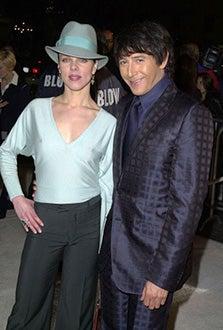 "Debi Mazar and  Paul Reubens - ""Blow"" premiere, March 29, 2001"