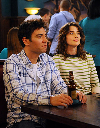 "How I Met Your Mother - Season 6 - ""Landmarks"" - Josh Radnor, Cobie Smulders"