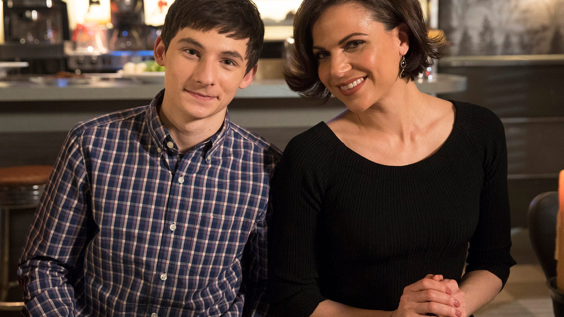 Jared Gilmore and Lana Parrilla, Once Upon a Time