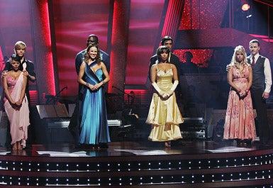 Dancing With The Stars - Season 8 - Lil Kim, Derek Hough, Edyta Sliwinska, Lawrence Taylor, Cheryl Burke, Gilles Marini, Chelsie Hightower and Ty Murray