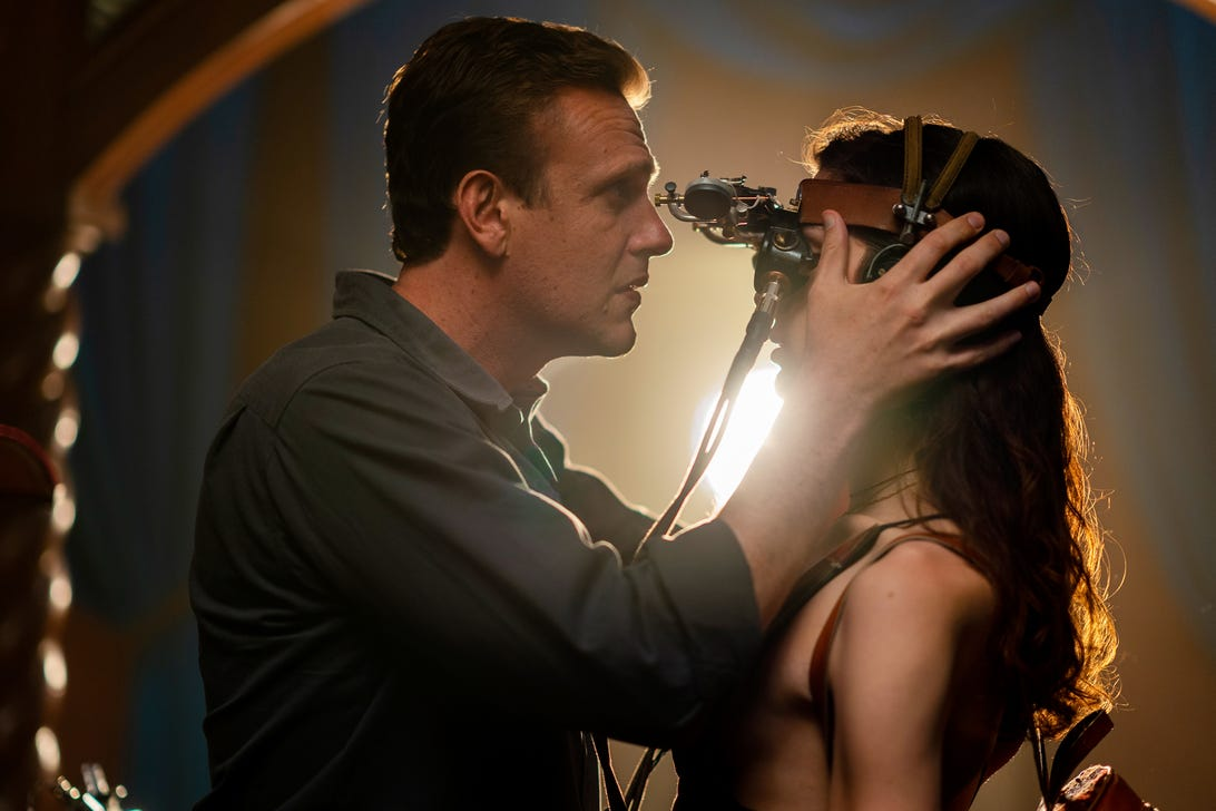 Jason Segel and Eve Lindley, Dispatches From Elsewhere