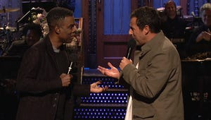 Adam Sandler Hosts Saturday Night Live, with Cameos from a Few Famous Friends