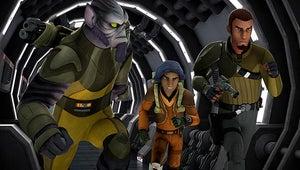 Star Wars Rebels Goes Back to a Galaxy Far, Far Away