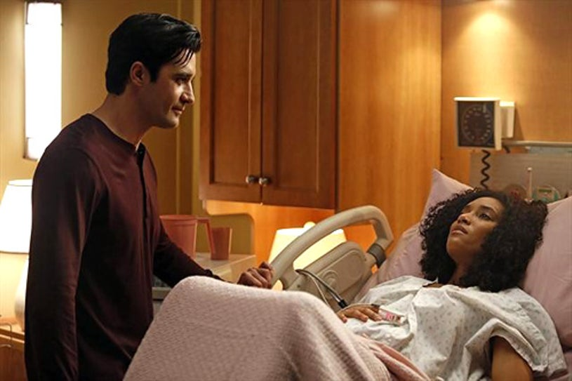 """Switched at Birth - Season 1 - """"Introducing the Miracle"""" – Gilles Marini, Annie Ilonzeh"""