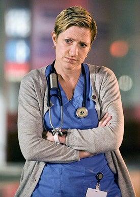 Nurse Jackie - Edie Falco as Jackie O'Hurley in Nurse Jackie