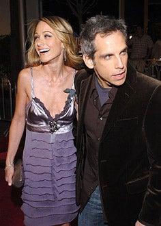 "Christine Taylor and Ben Stiller - ""Meet the Fockers"" Los Angeles premiere, December 16, 2004"