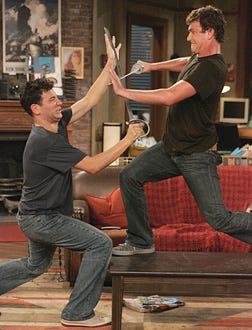 How I Met Your Mother - Josh Radnor and Jason Segel
