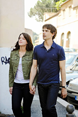 "Covert Affairs - Season 4 - ""Crackity Jones"" - Michelle Ryan and Christopher Gorham"