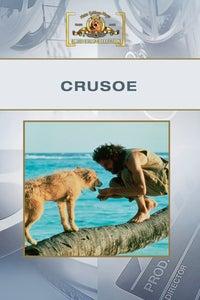 Crusoe as Mr. Newby