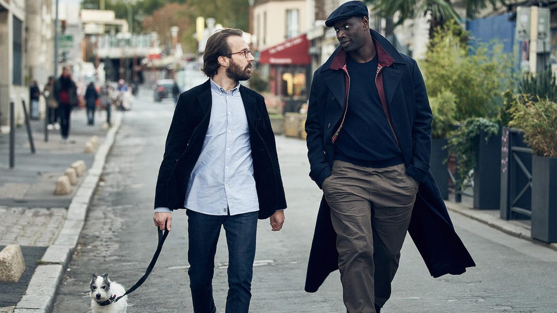 Antoine Gouy and Omar Sy, Lupin