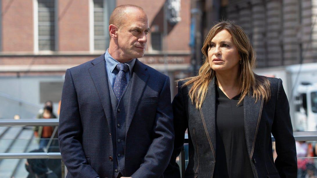 Christopher Meloni and Mariska Hargitay, Law & Order: Organized Crime