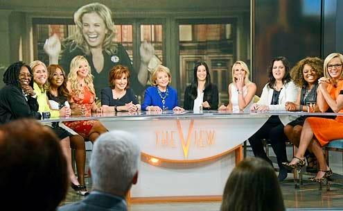 The View - Season 17 - Whoopi Goldberg, Meredith Vieira, Star Jones, Debbie Matenopoulos, Joy Behar, Barbara Walters, Lisa Ling, Elizabeth Hasselbeck, Rosie O'Donnell, Sherri Shepherd and Jenny McCarthy