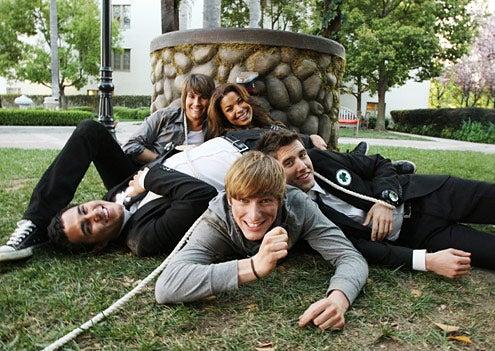 Big Time Rush - Carlos Pena, Kendall Schmidt, Logan Henderson. James Maslow and Jordin Sparks