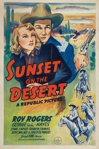 Sunset on the Desert as Belknap