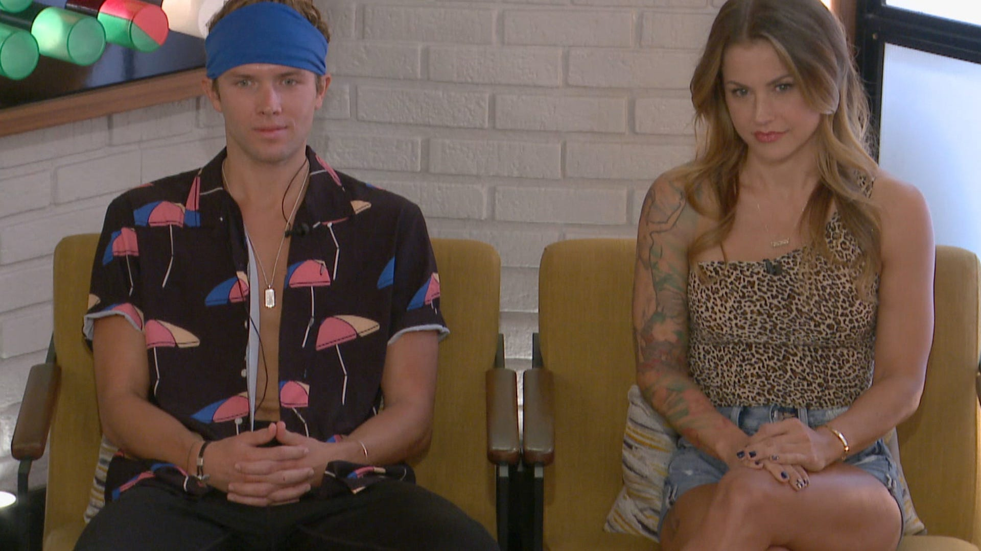 Tyler Crispin and Christmas Abbott, Big Brother All Stars