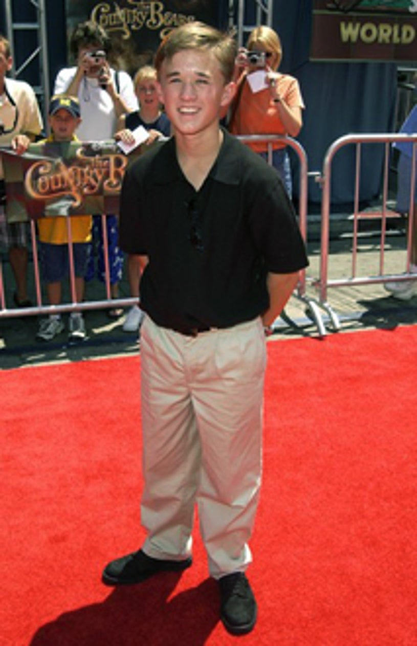"""Haley Joel Osment - """"The Country Bears"""" premiere, July 2002"""