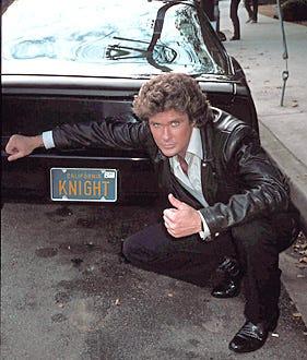 Knight Rider - David Hasselhoff