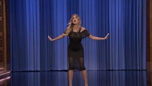 Watch Heidi Klum's Killer Invisible Hula Hoop Dance on The Tonight Show