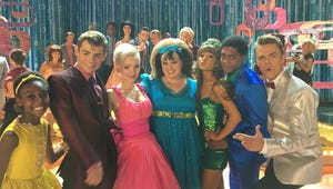 Hairspray Live!: Ariana Grande and Derek Hough Nail the 1960s Look in New Cast Photos