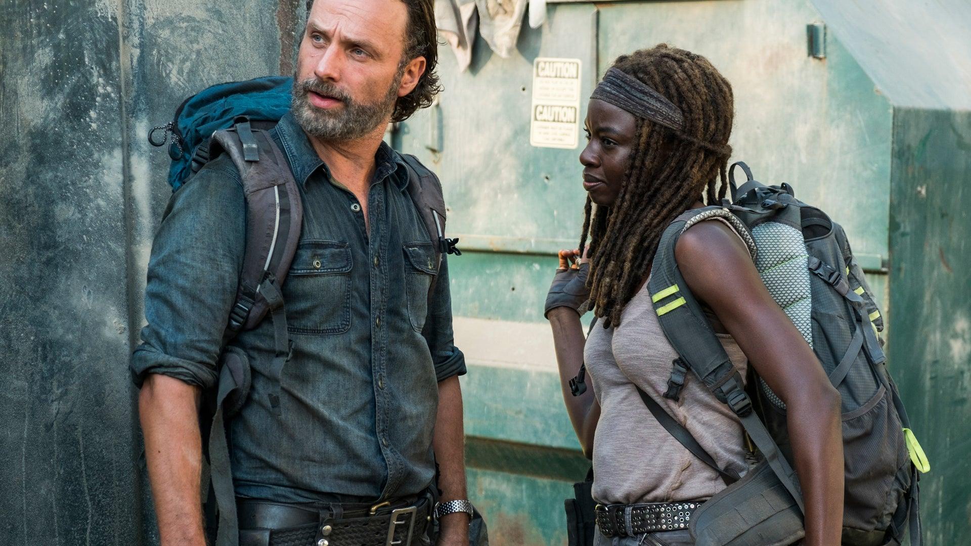 Andrew Lincoln and Danai Gurira, The Walking Dead