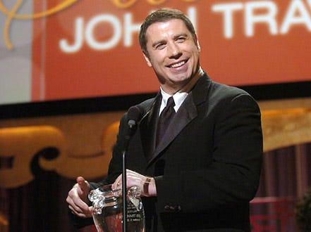 "John Travolta - ""Moving Image Salutes John Travolta"" in New York City, December 5, 2004"