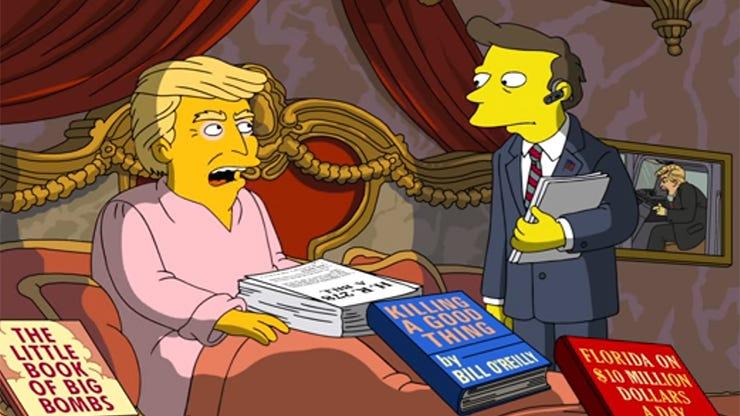 Donald Trump, The Simpsons