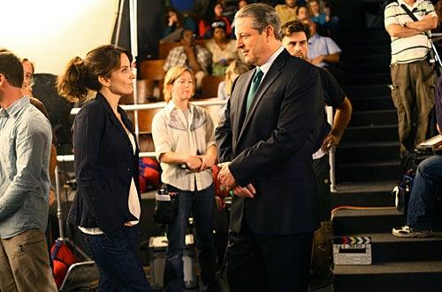 """30 Rock - Season 2 - """"Greenzo"""" - Tina Fey as """"Liz Lemon"""", Al Gore as himself"""
