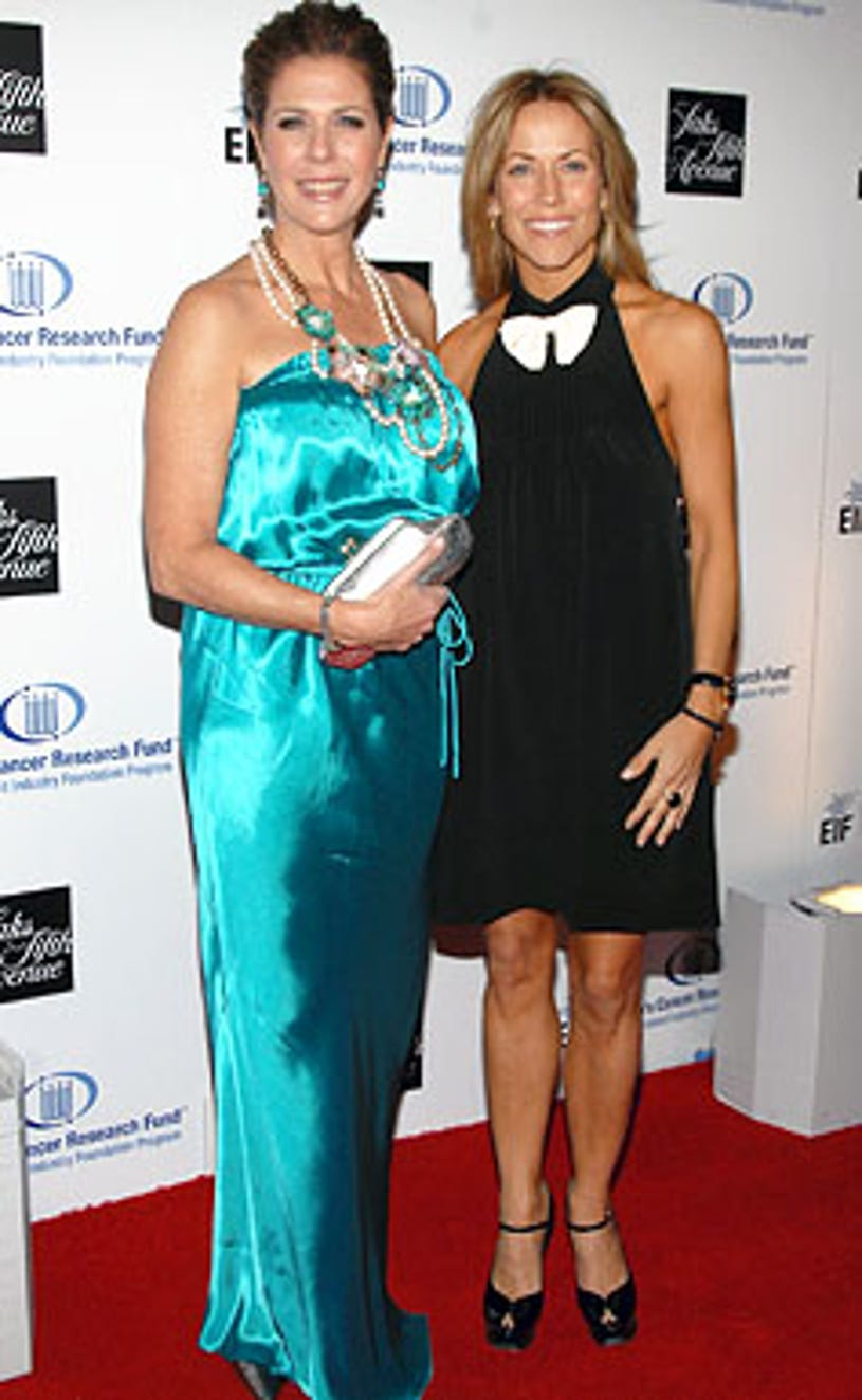 Rita Wilson and Sheryl Crow - The Unforgettable Evening benefiting the Entertainment Industry Foundation in Beverly Hills, February 10, 2009