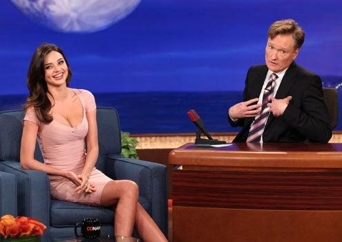 Conan - Season 1 - Miranda Kerr and Conan O'Brien