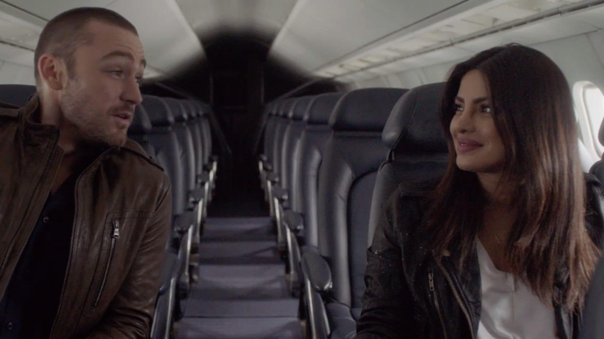 Jake McLaughlin and Priyanka Chopra, Quantico