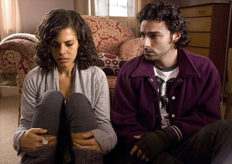 Being Human - Lenora Crichlow as Annie and Aidan Turner as Mitchell