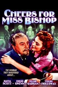 Cheers for Miss Bishop as Sam Peters