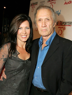 Annie Carradine and David Carradine - 75th Anniversary Gala, Sept. 2005