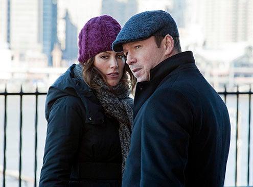"Blue Bloods - Season 2 - ""Leap Of Faith"" - Donnie Wahlberg, Jennifer Esposito"
