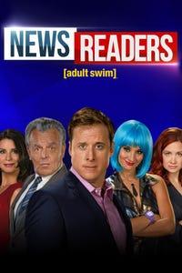 Newsreaders as Reagan Biscayne