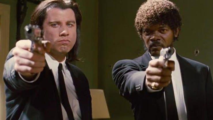 John Travolta and Samuel L. Jackson, Pulp Fiction