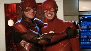 Justice League's Ezra Miller Made a Flash Cameo in Crisis on Infinite Earths