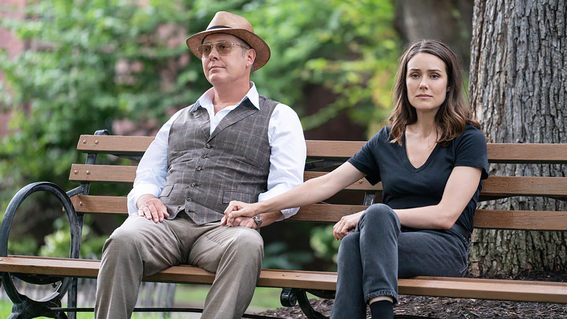 James Spader and Megan Boone, The Blacklist