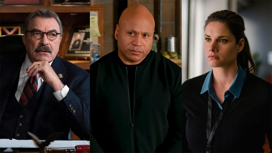 Tom Selleck, Blue Bloods/LL Cool J, NCIS: Los Angeles/Missy Peregrym, FBI