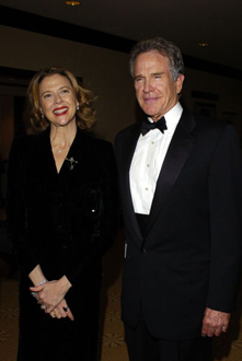 Annette Bening and Warren Beatty - The 15th Annual Producers Guild Awards, January 17, 2004
