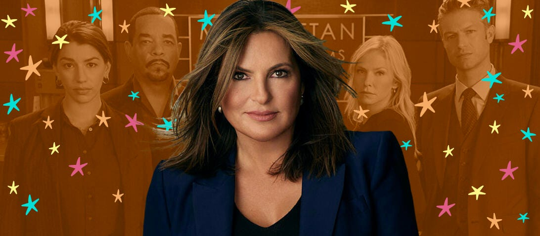 SVU for 100 Best Shows