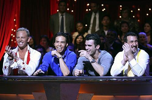 Dancing with the Stars - Season 4 - Ian Ziering, Apolo Anton Ohno, Tony Dovolani, Joey Fatone