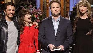 SNL: Seth Rogen Hosts; James Franco and Other Celebs Drop By