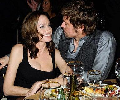 Angelina Jolie and Brad Pitt - 13th Annual Critics' Choice Awards, January 7, 2008