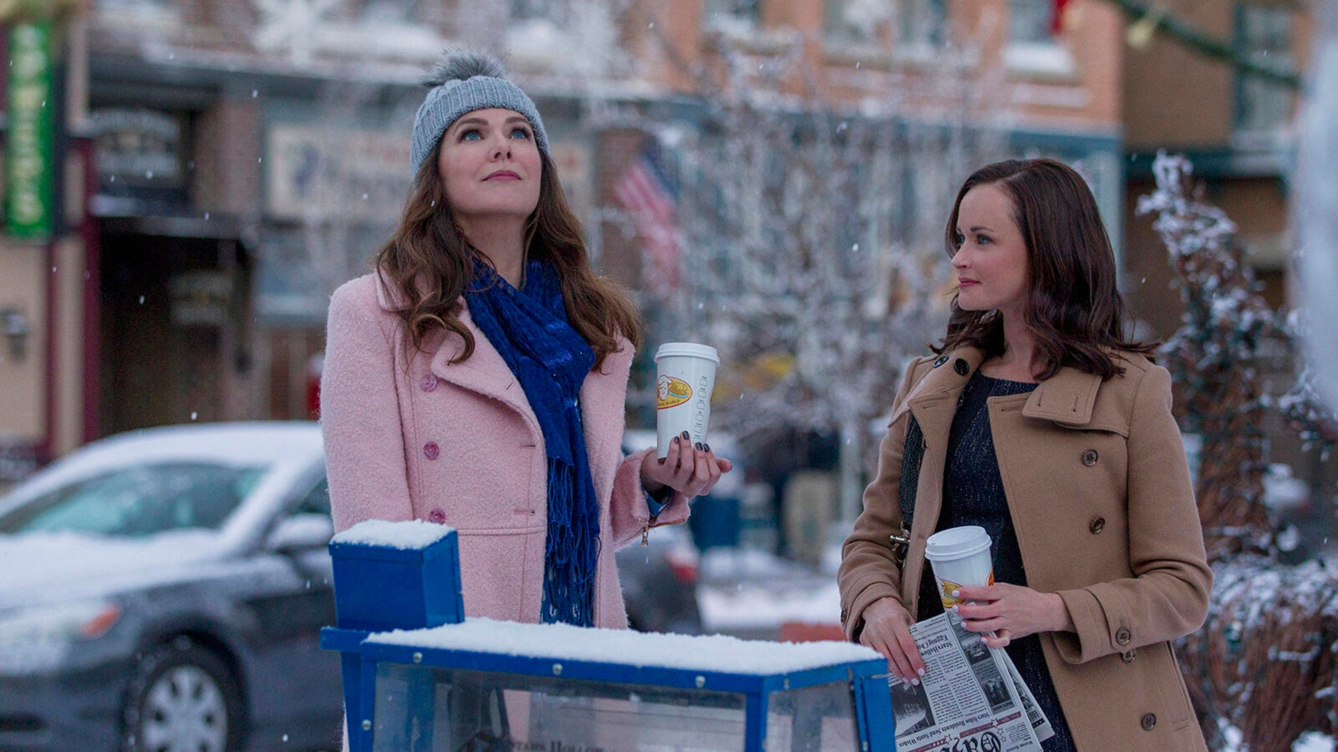 Lauren Graham and Alexis Bledel, Gilmore Girls: A Year in the Life
